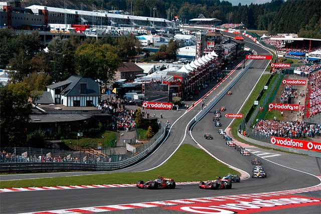 circuit du grand prix de Spa Francorchamps